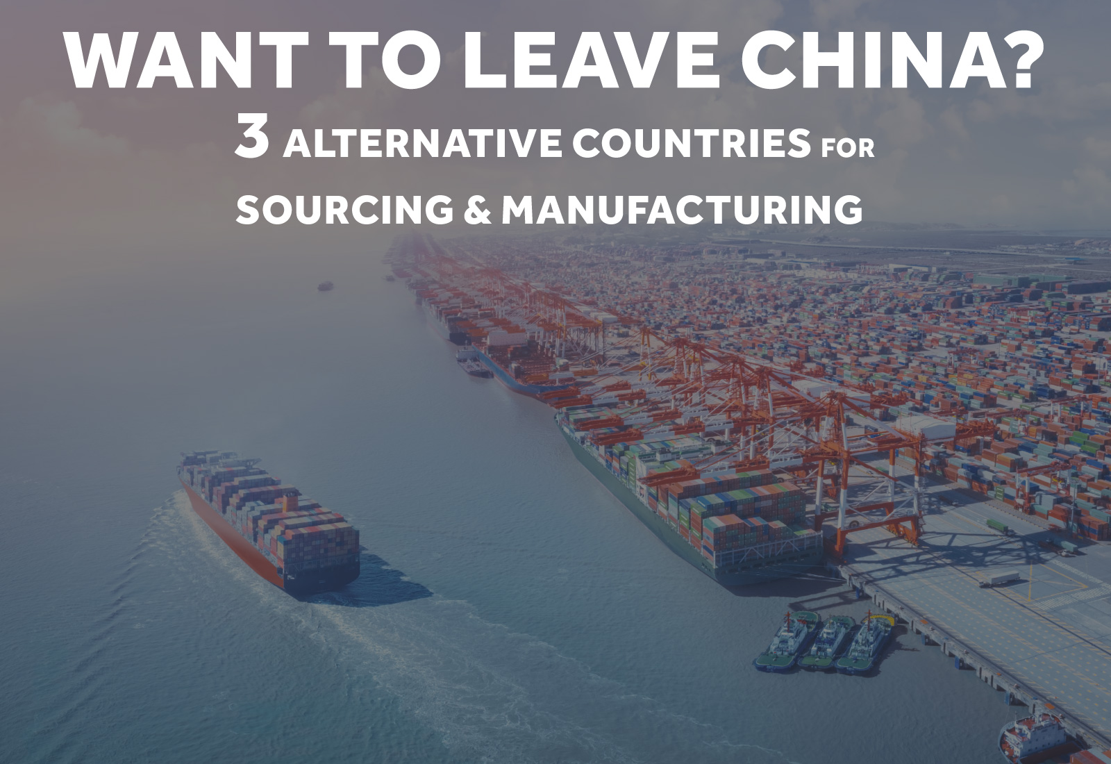 Sourcing Outside of China?