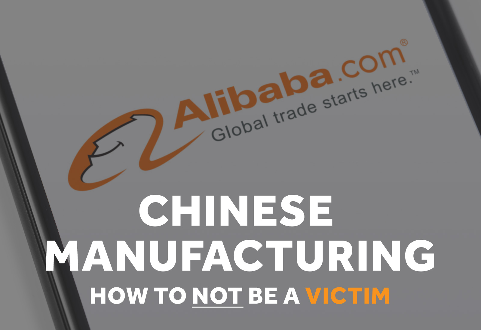Do NOT be a victim of bad Chinese Manufacturing
