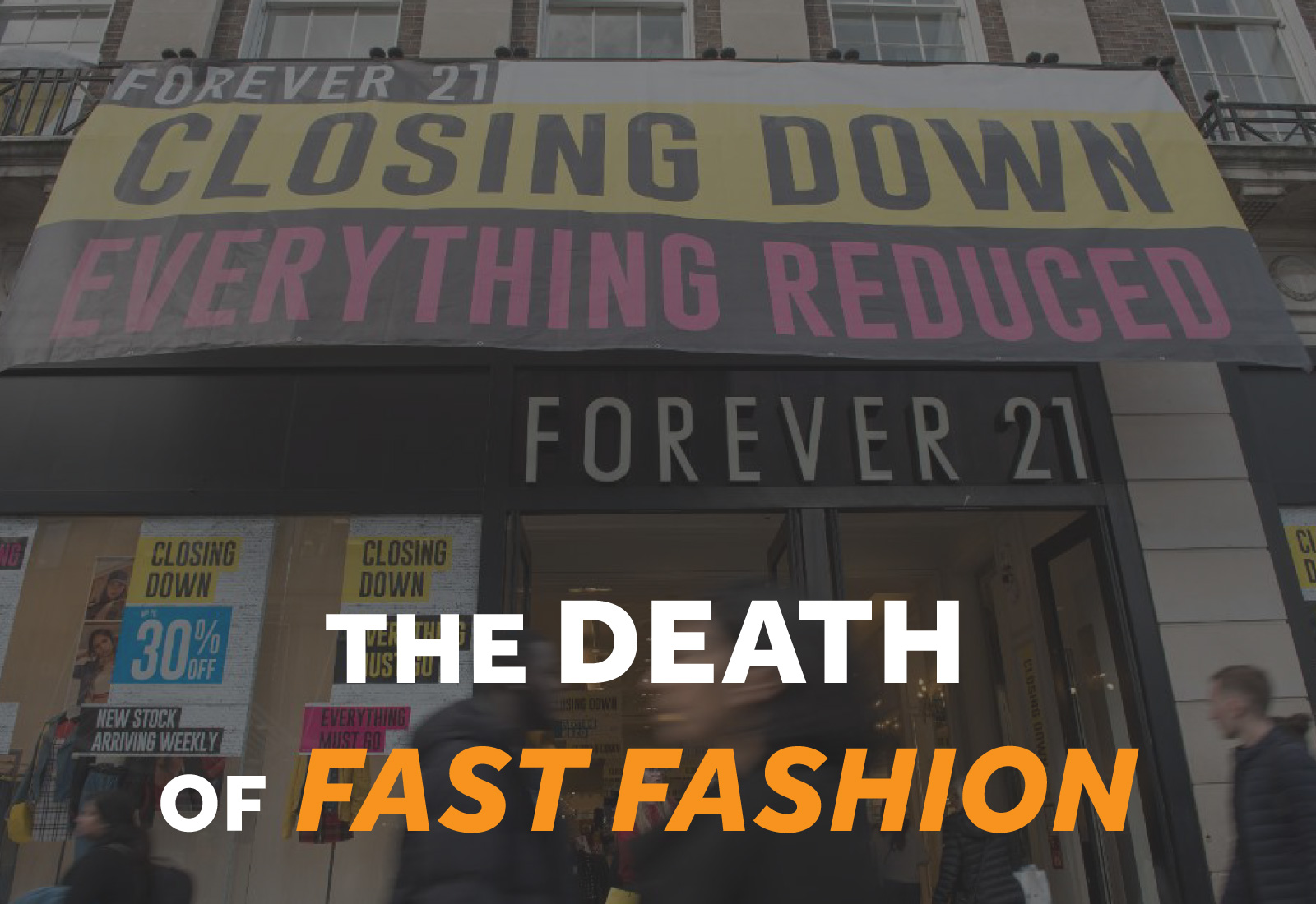 Death of Fast Fashion