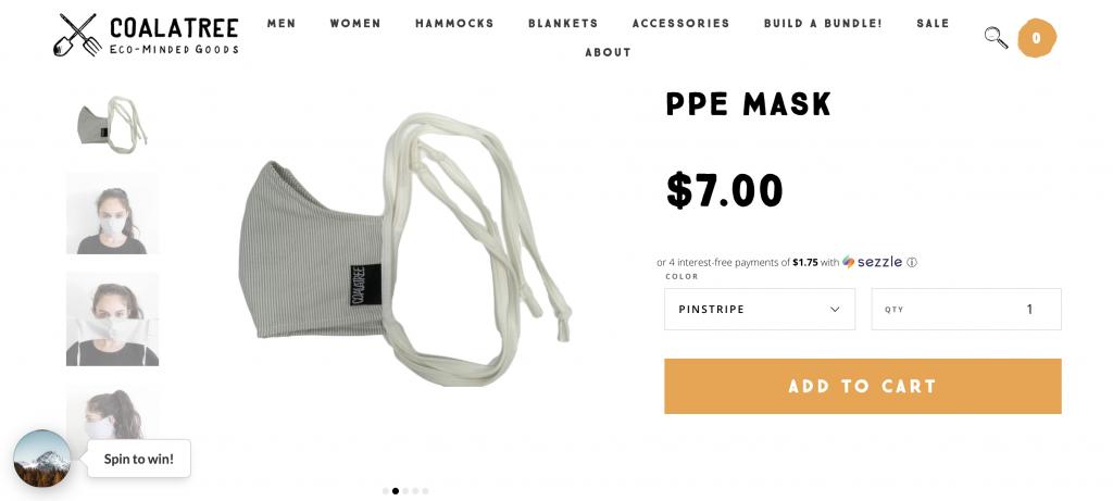 Coalatree PPE
