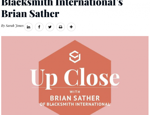 Sourcing Journal's – Up Close: In Conversation with Blacksmith International's Brian Sather