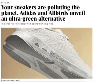 Allbirds + adidas + Tencel
